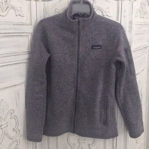 Better Sweater Jacket, smoky violet (Small)